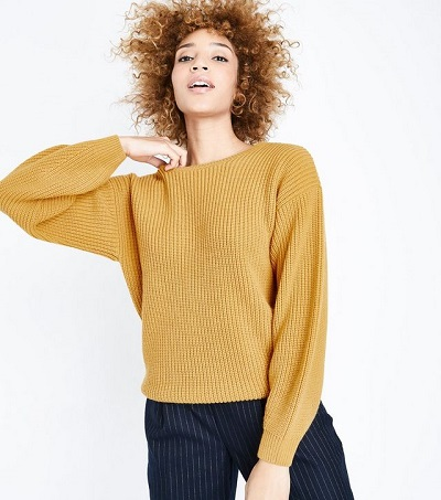 mustard-yellow-lattice-back-balloon-sleeve-jumper NL