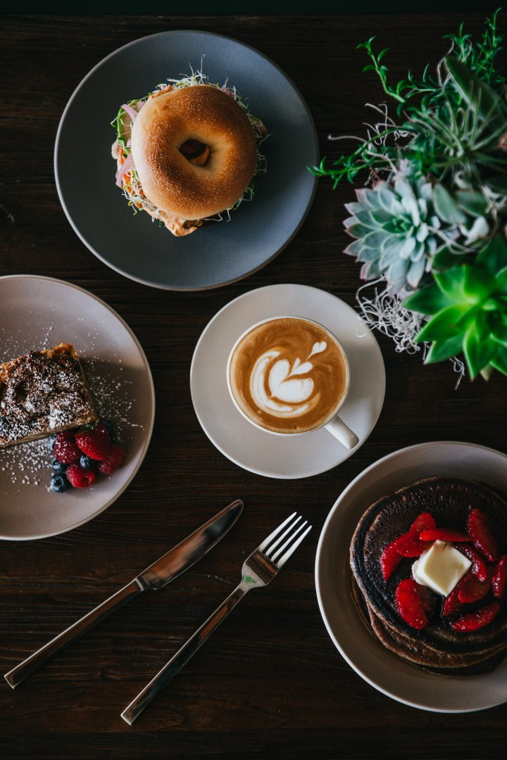 Sweet, savoury and a latte? Yesplease!